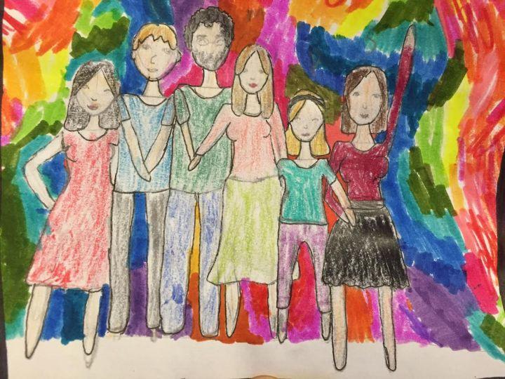 pema family drawing